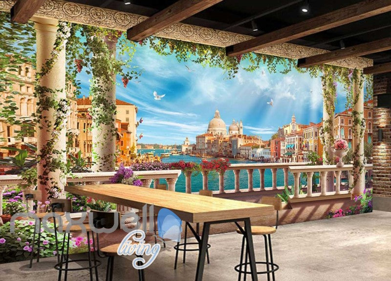 wallpaper venice city view Art Wall Murals Wallpaper Decals Prints Decor IDCWP-JB-000609