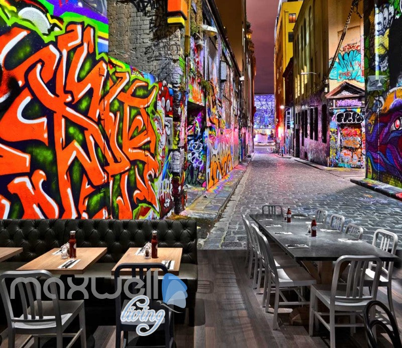 3d wallpaper graffiti street Art Wall Murals Wallpaper Decals Prints Decor IDCWP-JB-000619