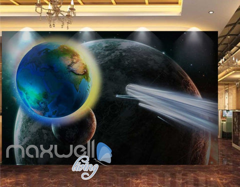 Image of 3D Abstract Planets Art Wall Murals Wallpaper Decals Prints Decor IDCWP-JB-000673