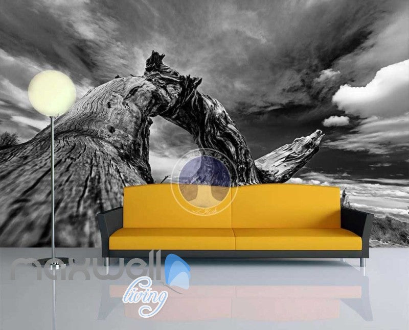 Landscape Old Fallen Tree Art Wall Murals Wallpaper Decals Prints Decor IDCWP-JB-000820