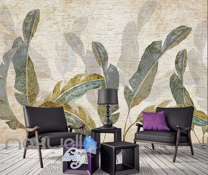 Drawing Plant Leaves Art Wall Murals Wallpaper Decals Prints Decor IDCWP-JB-000846