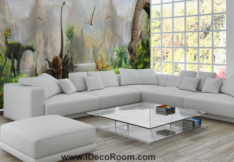 Dinosaur Wallpaper Large Wall Murals for Bedroom Wall Art IDCWP-KL-000104