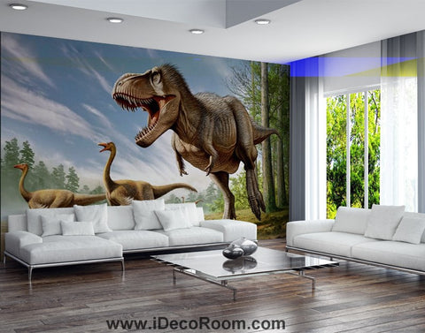 Image of Dinosaur Wallpaper Large Wall Murals for Bedroom Wall Art IDCWP-KL-000106