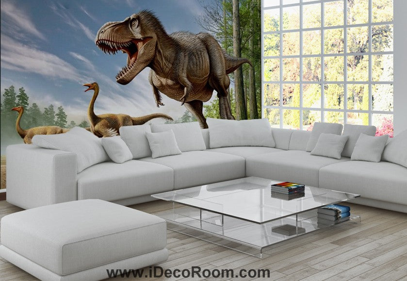 Dinosaur Wallpaper Large Wall Murals for Bedroom Wall Art IDCWP-KL-000106