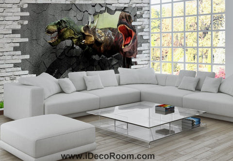 Image of Dinosaur Wallpaper Large Wall Murals for Bedroom Wall Art IDCWP-KL-000107