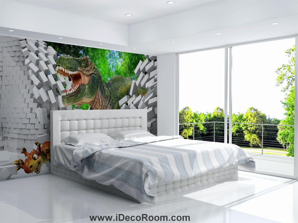 Dinosaur Wallpaper Large Wall Murals for Bedroom Wall Art IDCWP-KL-000113