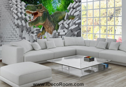 Image of Dinosaur Wallpaper Large Wall Murals for Bedroom Wall Art IDCWP-KL-000113