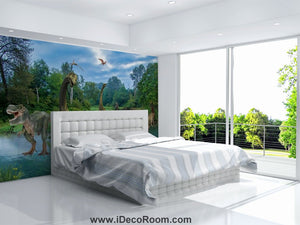 Dinosaur Wallpaper Large Wall Murals for Bedroom Wall Art IDCWP-KL-000116