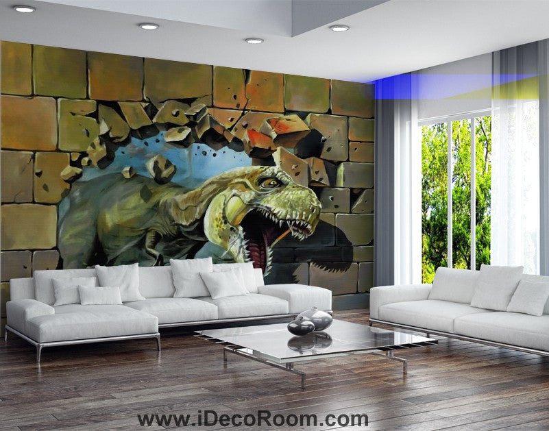 Dinosaur Wallpaper Large Wall Murals for Bedroom Wall Art IDCWP-KL-000118