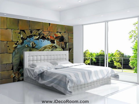 Image of Dinosaur Wallpaper Large Wall Murals for Bedroom Wall Art IDCWP-KL-000118