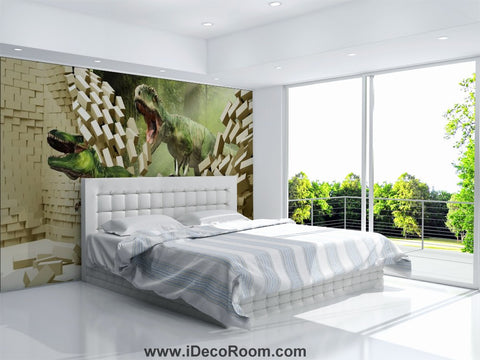 Image of Dinosaur Wallpaper Large Wall Murals for Bedroom Wall Art IDCWP-KL-000150