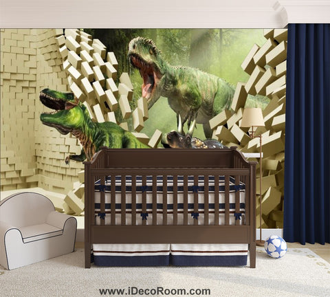 Dinosaur Wallpaper Large Wall Murals for Bedroom Wall Art IDCWP-KL-000150