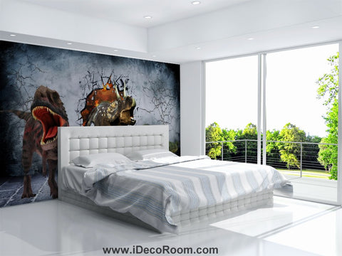 Image of Dinosaur Wallpaper Large Wall Murals for Bedroom Wall Art IDCWP-KL-000151