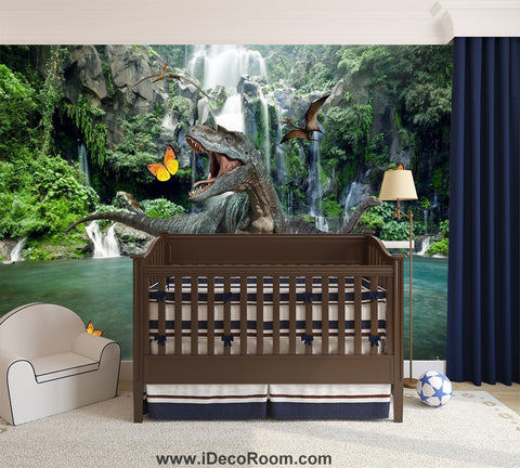 Image of Dinosaur Wallpaper Large Wall Murals for Bedroom Wall Art IDCWP-KL-000153