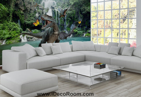 Dinosaur Wallpaper Large Wall Murals for Bedroom Wall Art IDCWP-KL-000153