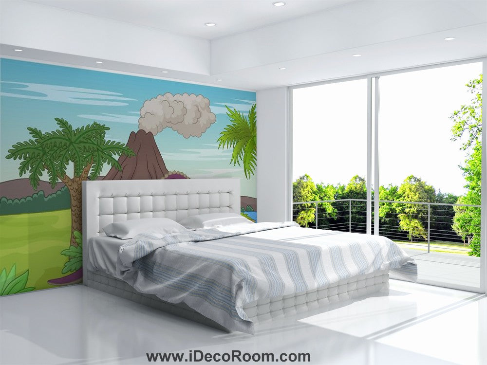Dinosaur Wallpaper Large Wall Murals for Bedroom Wall Art IDCWP-KL-000155