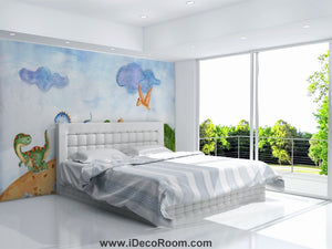 Dinosaur Wallpaper Large Wall Murals for Bedroom Wall Art IDCWP-KL-000157