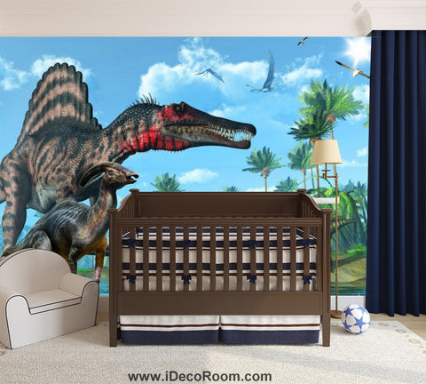 Dinosaur Wallpaper Large Wall Murals for Bedroom Wall Art IDCWP-KL-000159
