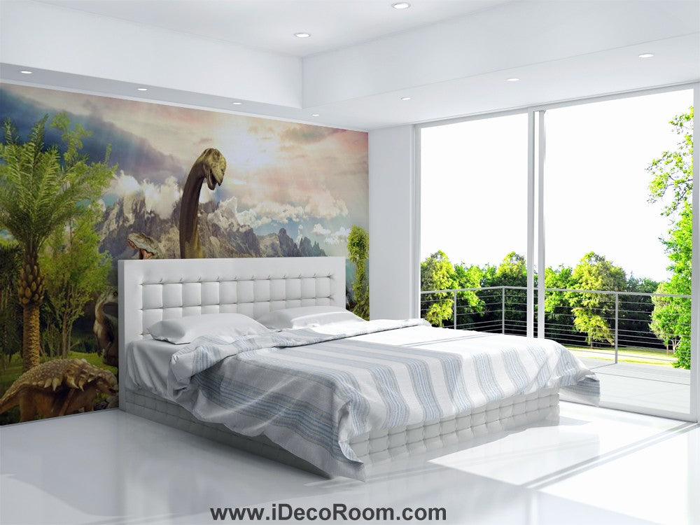 Dinosaur Wallpaper Large Wall Murals for Bedroom Wall Art IDCWP-KL-000160