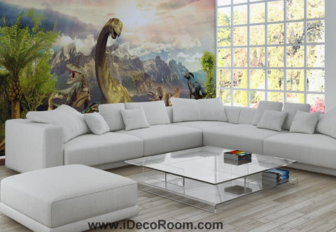 Image of Dinosaur Wallpaper Large Wall Murals for Bedroom Wall Art IDCWP-KL-000160