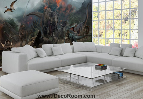 Image of Dinosaur Wallpaper Large Wall Murals for Bedroom Wall Art IDCWP-KL-000163