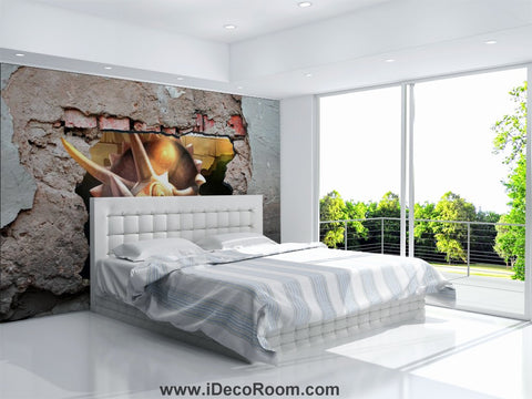 Dinosaur Wallpaper Large Wall Murals for Bedroom Wall Art IDCWP-KL-000164