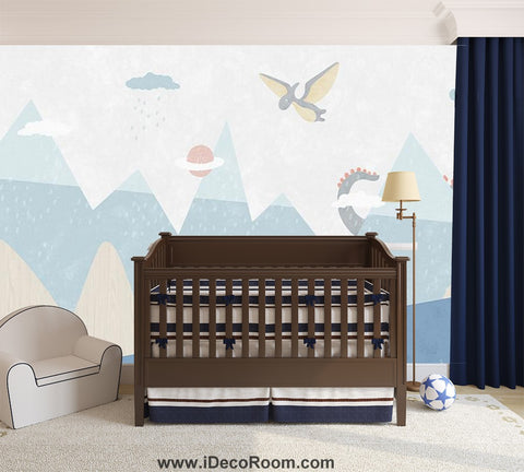 Dinosaur Wallpaper Large Wall Murals for Bedroom Wall Art IDCWP-KL-000165