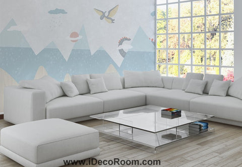 Image of Dinosaur Wallpaper Large Wall Murals for Bedroom Wall Art IDCWP-KL-000165