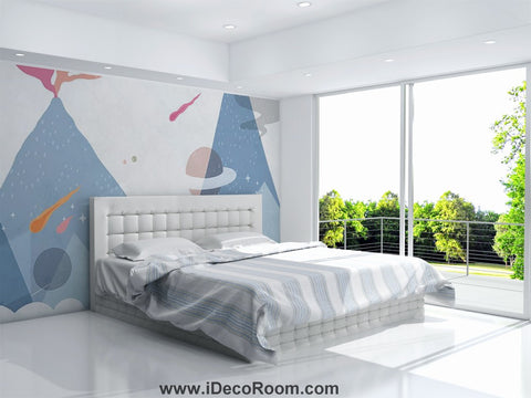 Dinosaur Wallpaper Large Wall Murals for Bedroom Wall Art IDCWP-KL-000166