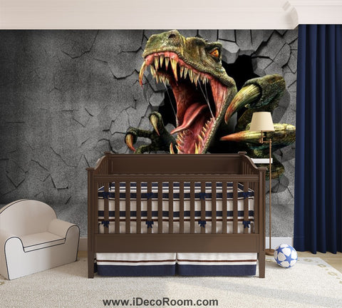 Dinosaur Wallpaper Large Wall Murals for Bedroom Wall Art IDCWP-KL-000167