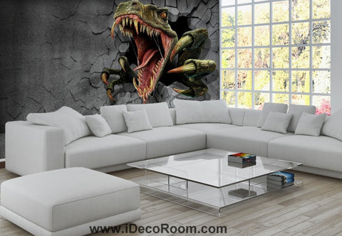 Image of Dinosaur Wallpaper Large Wall Murals for Bedroom Wall Art IDCWP-KL-000167