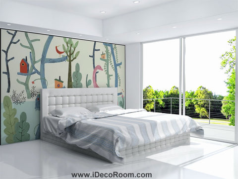 Dinosaur Wallpaper Large Wall Murals for Bedroom Wall Art IDCWP-KL-000169