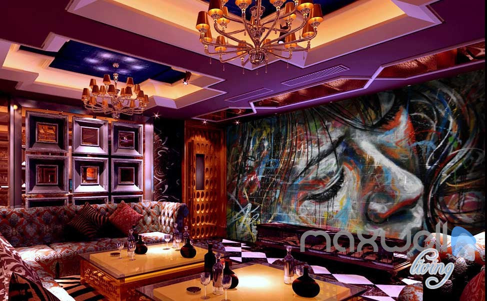 3D Graffiti Urban Wall Paper Murals Art Print Decals Decor IDCWP-TY-000006