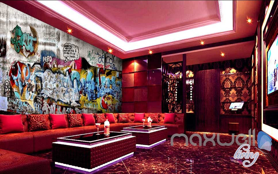 3D Graffiti Wall Art 73 Wall Murals Paper Print Decals Decor Wallpaper IDCWP-TY-000073