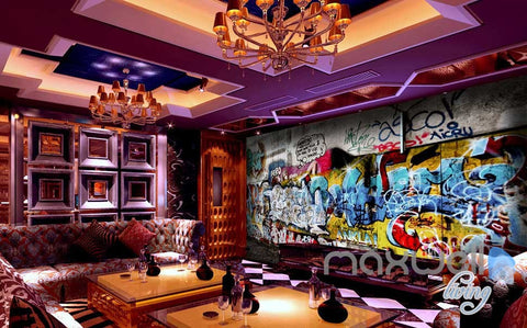 Image of 3D Graffiti Wall Art 73 Wall Murals Paper Print Decals Decor Wallpaper IDCWP-TY-000073