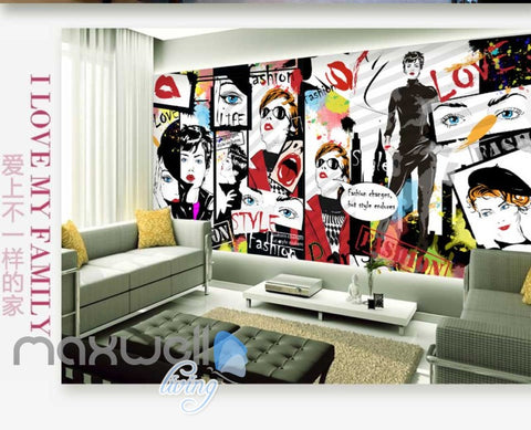Image of 3D Graffiti Pumpkin Head Jack Street Art Wall Murals Wallpaper Decals Prints IDCWP-TY-000164