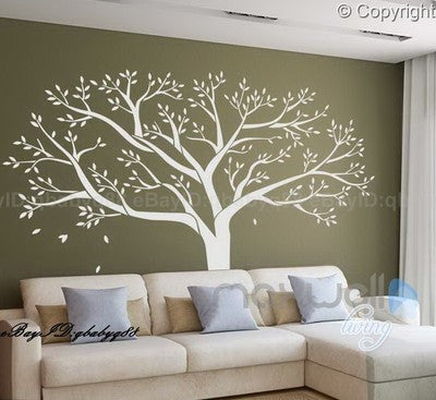 Giant Family Tree Wall Stickers Vinyl Art Home Photo
