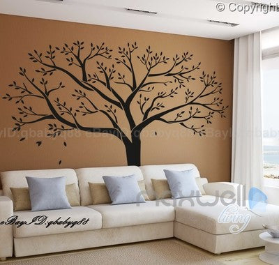 Image of Giant Family Tree Wall Stickers Vinyl Art Home Photo Decals Room Decor Mural Anniversary Wedding Valentines Day Gift