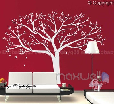 Giant family tree wall stickers vinyl art home photo for 8 sheet giant wall mural