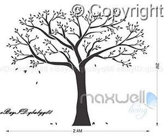 Giant Family Tree Wall Stickers Vinyl Art Home Photo Decals Room Decor Mural Anniversary Wedding Valentines Day Gift