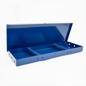 Brush Box In Ruby Red or Sapphire Blue (BB-PC)