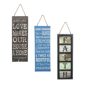 Three Pack! Love, Always Remember, Faith