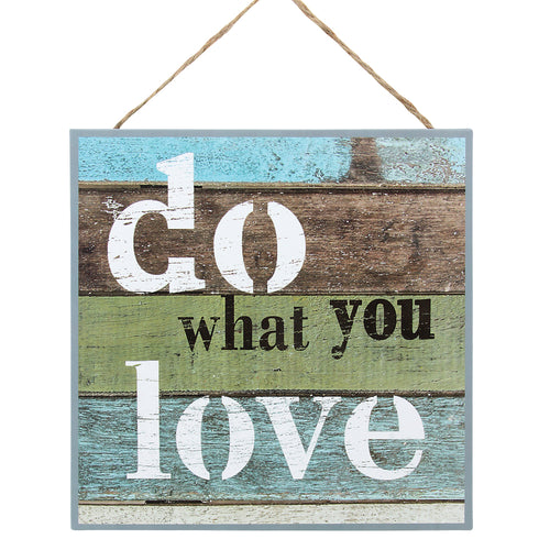 'Do What You Love' Wall Decor