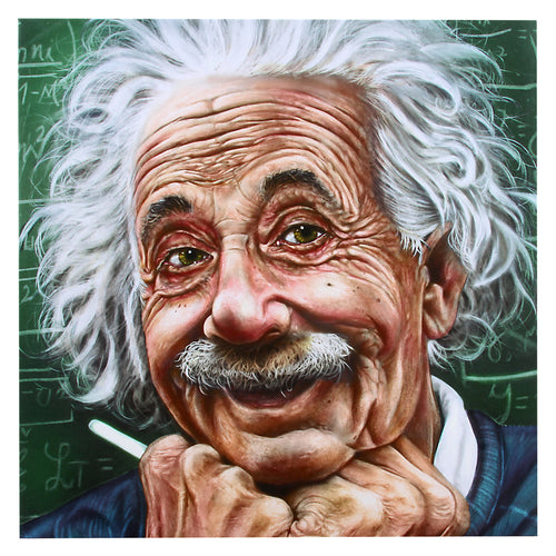 Albert Einstein Canvas Wall Decor