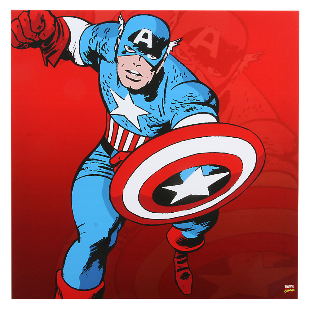 Captain America Canvas Wall Decor