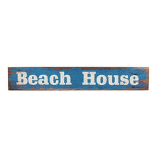 Load image into Gallery viewer, Beach House Wooden Block