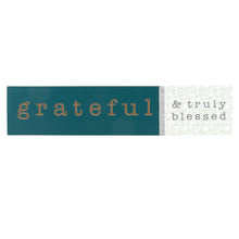 Load image into Gallery viewer, 'Grateful' Wood Wall Decor
