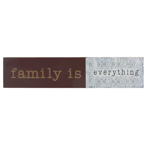 Family is Everything wood wall decor