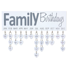 Load image into Gallery viewer, Family Birthday Sign