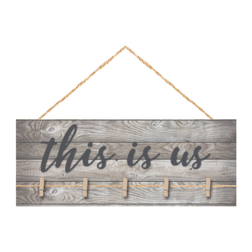 This Is Us Wall Décor